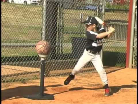 tee ball hitting drill