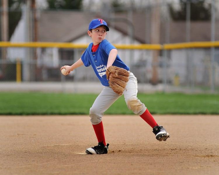 Little League Elbow Pitcher