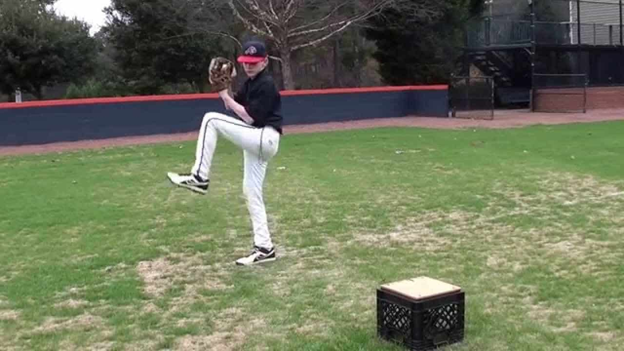 pitching drill