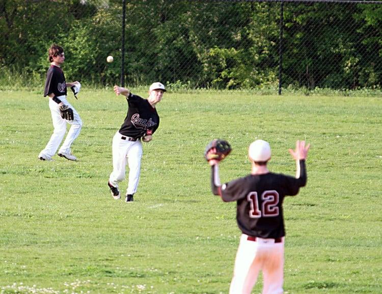 baseball cutoff drills