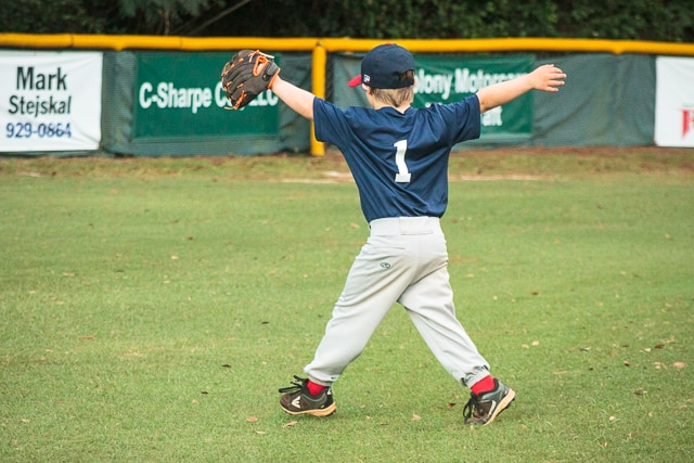 outfield tee ball drills