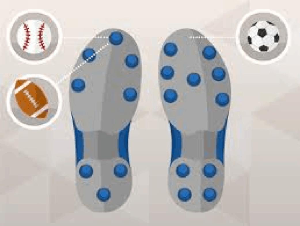 baseball cleats vs soccer cleats