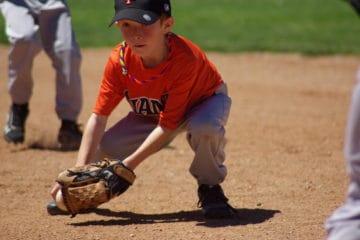 9 year old baseball glove