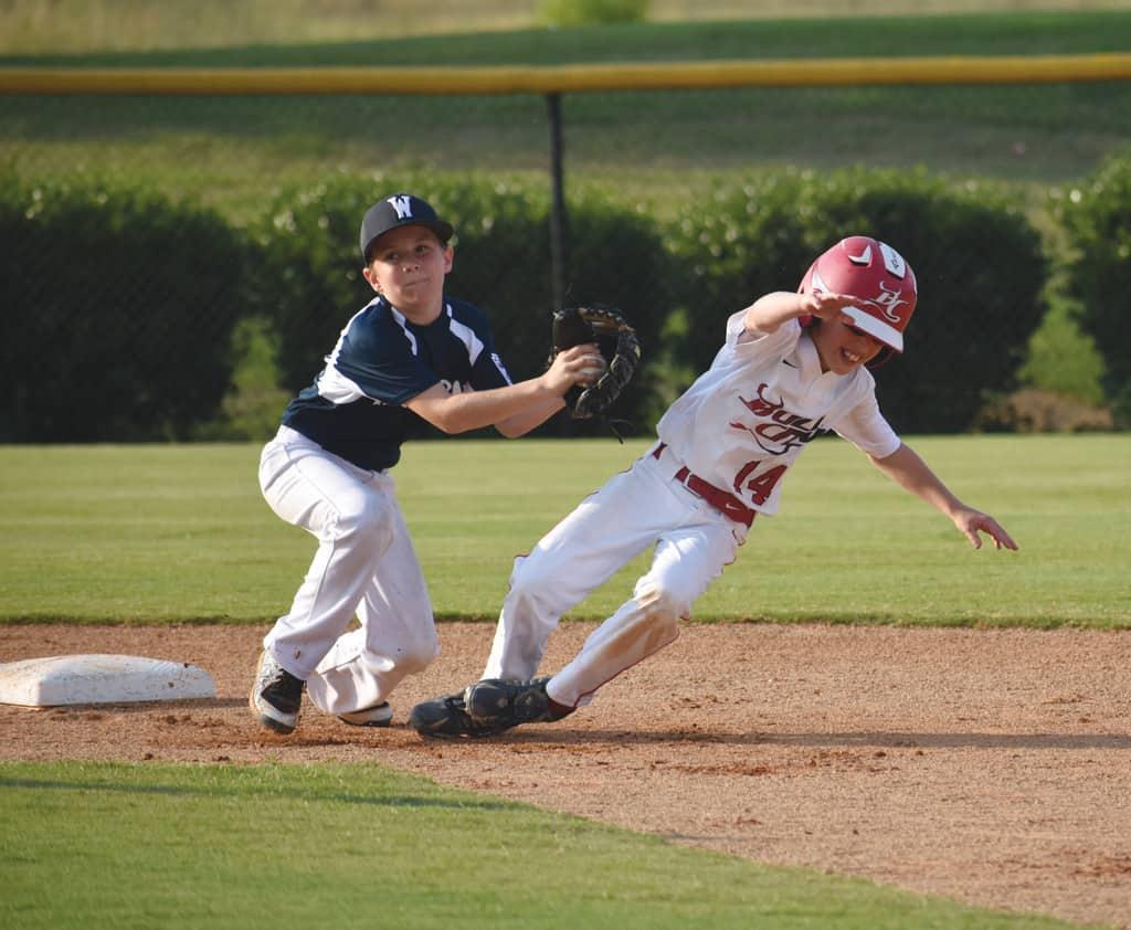 stealing in little league rules